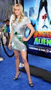 """monsters vs. aliens"" los angeles premiere - stock photo"