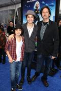 Alex wolff, nat wolff, michael wolff.los angeles premiere of dreamworks anima Stock Photos