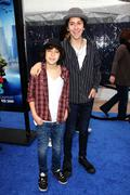alex wolff, nat wolff.los angeles premiere of dreamworks animation's monsters - stock photo