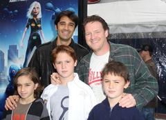 gilles marini, donal logue.los angeles premiere of dreamworks animation's mon - stock photo