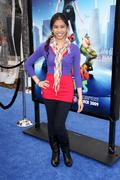 .los angeles premiere of dreamworks animation's monsters vs. aliens.held at t - stock photo
