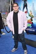 Stock Photo of jonah hill.los angeles premiere of dreamworks animation's monsters vs. aliens