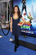 Stock Photo of samantha harris.los angeles premiere of dreamworks animation's monsters vs. a