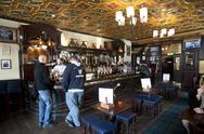 Stock Photo of pub edimburg scotland europe