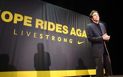 "Ben stiller.nike sportswear and lance armstrong launches ""stages"" .held at th Stock Photos"