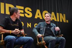 Lance armstrong, shepard fairey.nike sportswear and lance armstrong launches Stock Photos