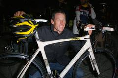 """nike sportswear and lance armstrong launches """"stages"""" - stock photo"""