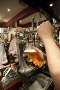 Brewed beer in a pub inverness scotland europe Stock Photos