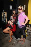 Bai ling and ed hardy store suppervisor kathryn.bai ling visits the ed hardy Stock Photos