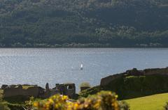 Famous loch ness inverness scotland europe Stock Photos