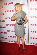 Stock Photo of nylon magazine launch's tv 90210 issue