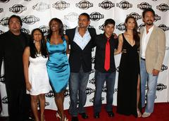 Stock Photo of la mission' cast.the 27th annual los angeles gay & lesbian film festival 200