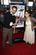 charlyne yi, jake johnson.los angeles screening of overture films' 'paper hea - stock photo
