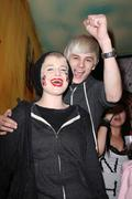 Stock Photo of kelly osbourne, luke worrall.perez hilton host prop8 pre-rally paty  .held at