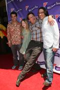Bill pullman, elle fanning, director daniel barnz, and producer Stock Photos