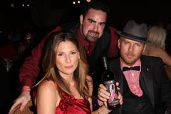 daisy fuentes, matt goss, jake kloberdanz.american red corss of santa monica - stock photo