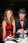 daisy fuentes, matt goss.american red corss of santa monica 'redtie affair' i - stock photo