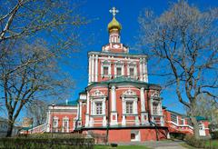 novodevichy convent - stock photo