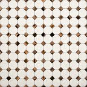 tile mosaic background - stock illustration