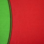 stitched leather background - stock illustration