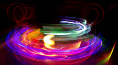 Abstract light pattern Stock Footage