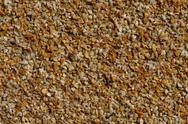 Stock Photo of Texture brown stone crumb of average fraction.