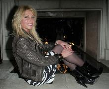 "Pamela bach-hasselhoff.3rd annual avant garde fashion event and ""shark city"" Stock Photos"