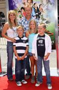 Candace cameron bure and family.world premiere of warner bros' 'shorts'.held Stock Photos