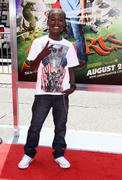 kwesi boakye.world premiere of warner bros' 'shorts'.held at the grauman's ch - stock photo