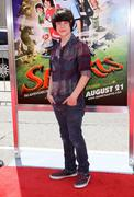 world premiere of warner bros' 'shorts' - stock photo