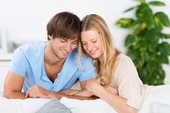 Couple in love Stock Photos