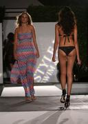 Model.the style l.a. swim & resort runway fashion show .at the viceroy hotel Stock Photos