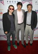 emile hirsch, demetri martin, ang lee.film independent screening of 'taking w - stock photo