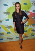 dianna agron.2009 tca summer tour - fox all-star party - arrivals.held at the - stock photo