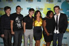 Glee cast.2009 tca summer tour - fox all-star party - arrivals.held at the la Stock Photos