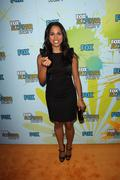 monica raymund.2009 tca summer tour - fox all-star party - arrivals.held at t - stock photo