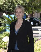 jane lynch.2009 tca summer tour - fox day .held at the langham hotel &spa.pas - stock photo
