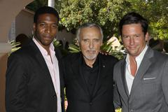jacko sims, dennis hopper, ross mccall.2009 cable's summer press tour day2 .h - stock photo
