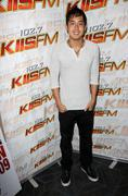 Allen evangelista.kiss-fm hosts gifting lounge in honor of the 11th annual te Stock Photos