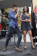 """kevin mchale, lea michele.join """"the gleek tour"""" featuring the cast of """"glee"""". - stock photo"""