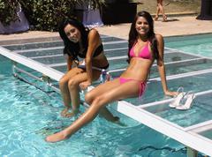Atmosphere.ludacris foundation summer splash.held at private residence.malibu Stock Photos