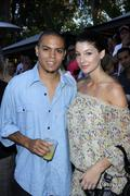 evan ross, guest.ludacris foundation summer splash.held at private residence. - stock photo