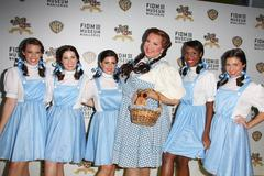 dorothys models.warner bros and fidm presents 'the wizard of oz exhibition op - stock photo