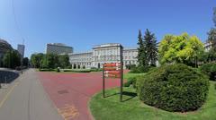 Mimara museum, Zagreb Stock Footage