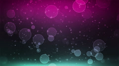 Cosmic Pink Teal - stock footage