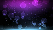 Stock Video Footage of Cosmic Purple Blue