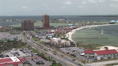 Pensacola Beach Stock Footage