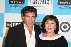 Stock Photo of antonio banderas, elizabeth pena