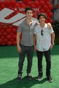 """David henrie, lorenzo henrie.""""up"""" - los angeles premiere .held at the el capi Stock Photos"""