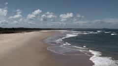 Port Macquarie North Shore Beach Stock Footage